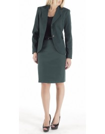 Long jacket with pockets