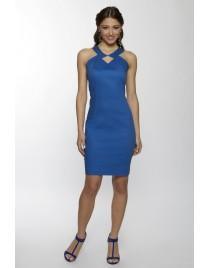 Geometric dress design backless