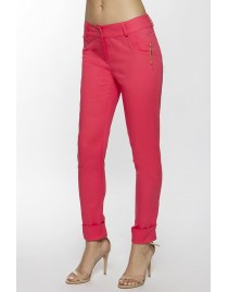 Trouser decorated with zips