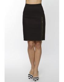 Skirt pencil style & long zip