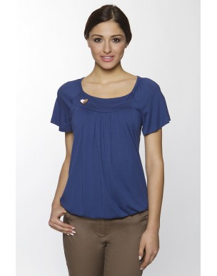 Top loose style short sleeve