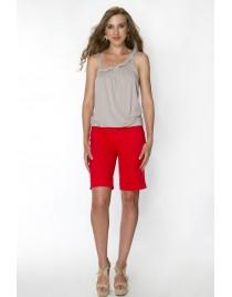 Bermouda shorts with double pockets at the back