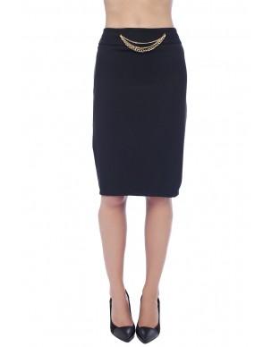 Skirt wtih golden chain